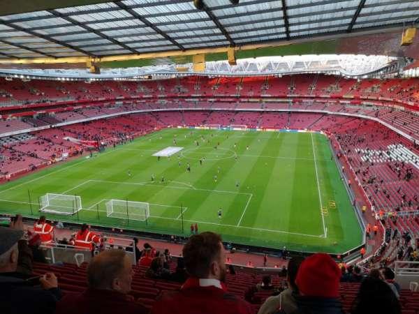 Emirates Stadium, Abschnitt: Clock end, Reihe: 18, Platz: 850