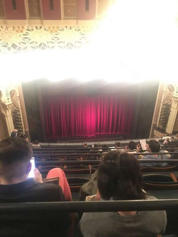 New York City Center, Abschnitt: Balcony, Reihe: M, Platz: 122