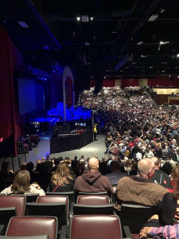 Hard Rock Live at Etess Arena, Abschnitt: 214, Reihe: P, Platz: 8