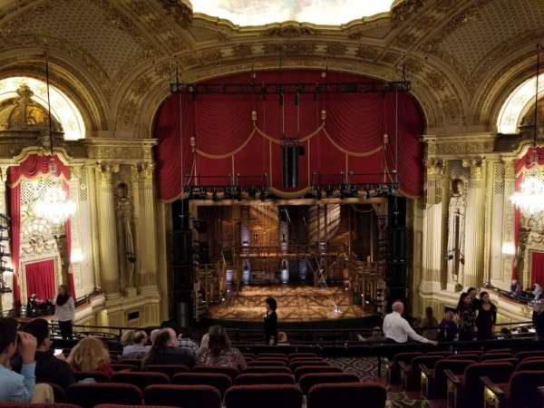 Boston Opera House, Abschnitt: MezzLC, Reihe: H, Platz: 103