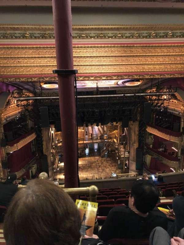 CIBC Theatre, Abschnitt: Balcony LC, Reihe: K, Platz: 407