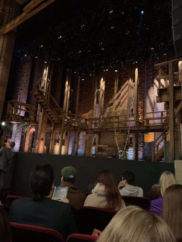 CIBC Theatre, Abschnitt: Orchestra R, Reihe: F, Platz: 12