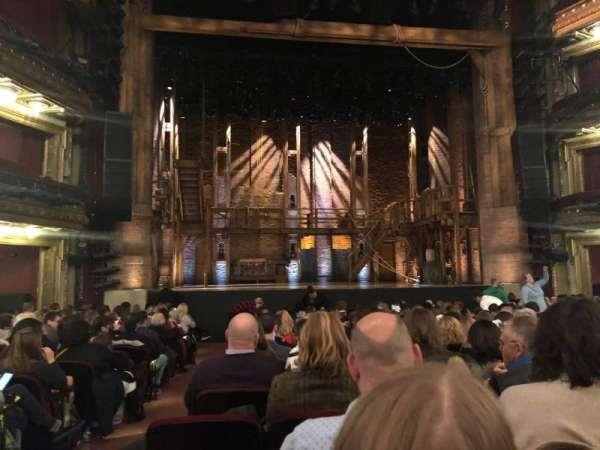 CIBC Theatre, Abschnitt: Orchestra C, Reihe: R, Platz: 101