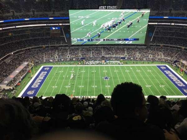 AT&T Stadium, Abschnitt: 443, Reihe: 29, Platz: 20