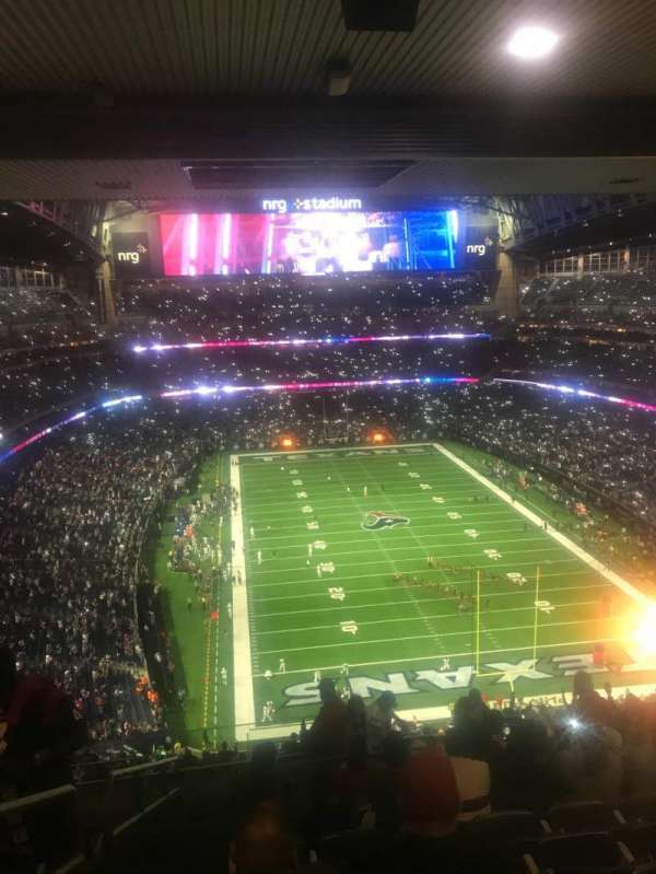 NRG Stadium, Abschnitt: 623, Reihe: N, Platz: 25-26