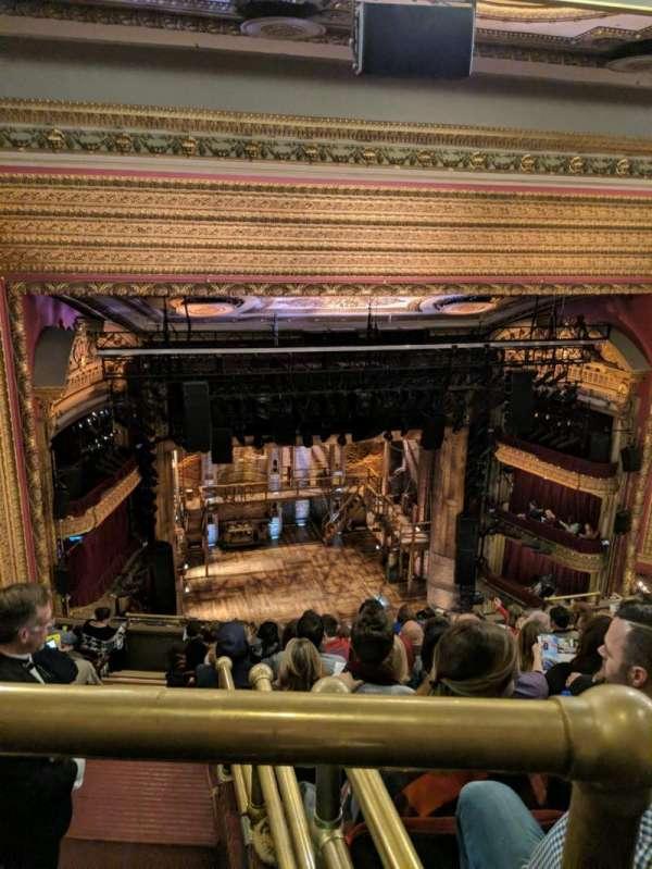 CIBC Theatre, Abschnitt: BALCLC, Reihe: L, Platz: 419