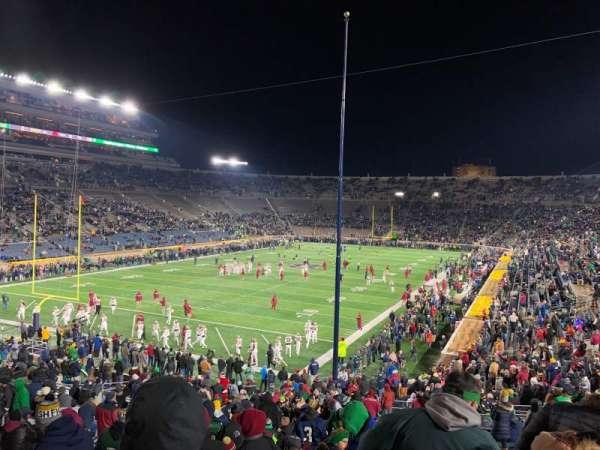 Notre Dame Stadium, Abschnitt: 16, Reihe: 45, Platz: 28-29