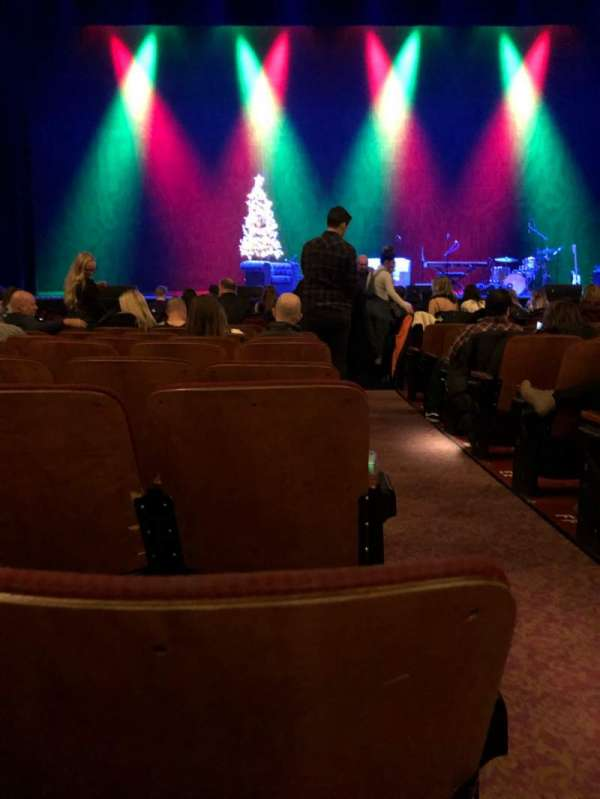 Chicago Theatre, Abschnitt: MNFL4L, Reihe: JJ, Platz: 401
