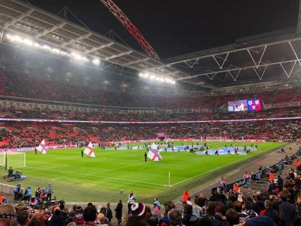 Wembley Stadium, Abschnitt: 130, Reihe: 22, Platz: 192