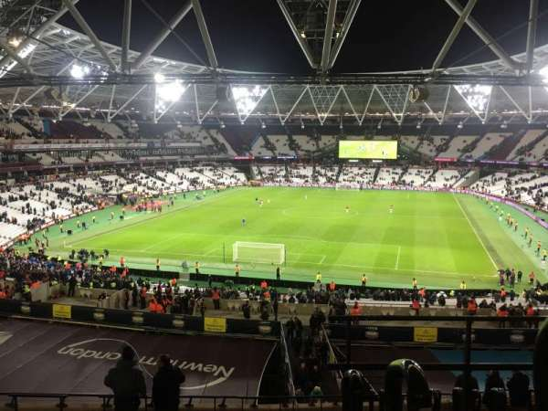 London Stadium, Abschnitt: 224, Reihe: 53, Platz: 812
