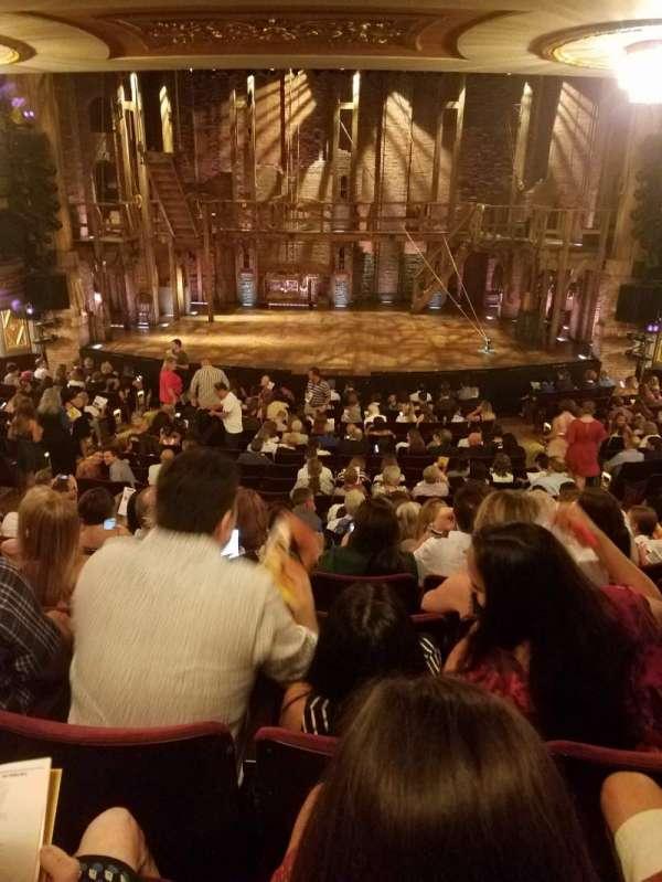 Richard Rodgers Theatre, Abschnitt: ORCHESTRA C, Reihe: S, Platz: 106