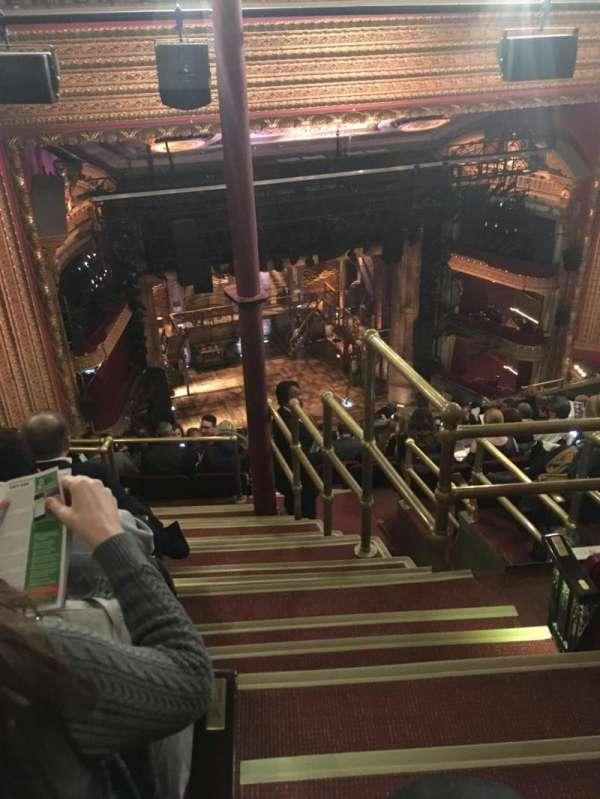 CIBC Theatre, Abschnitt: Balcony L, Reihe: N, Platz: 1