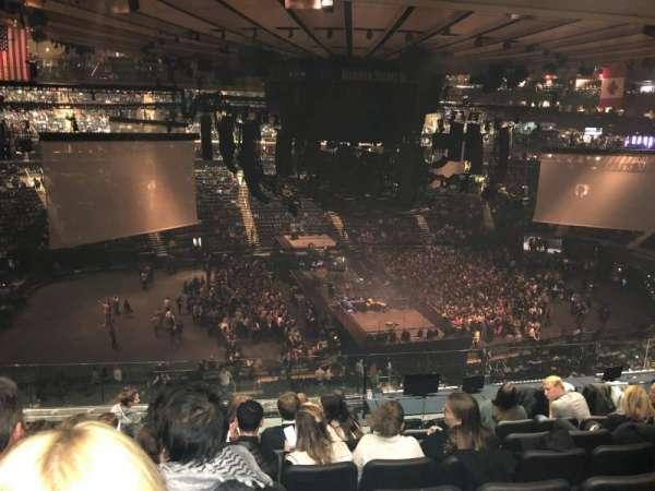 Madison Square Garden, Abschnitt: 223, Reihe: 10, Platz: 4