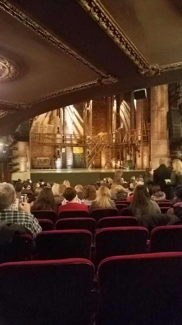 CIBC Theatre, Abschnitt: Orchestra, Reihe: U, Platz: 13