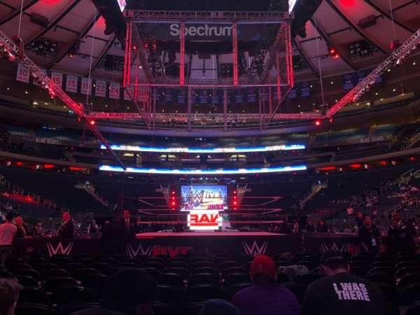 Madison Square Garden, Abschnitt: B, Reihe: 11, Platz: 12