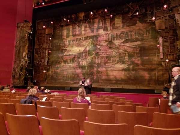 The Kennedy Center Opera House, Abschnitt: Orchestra, Reihe: N, Platz: 104