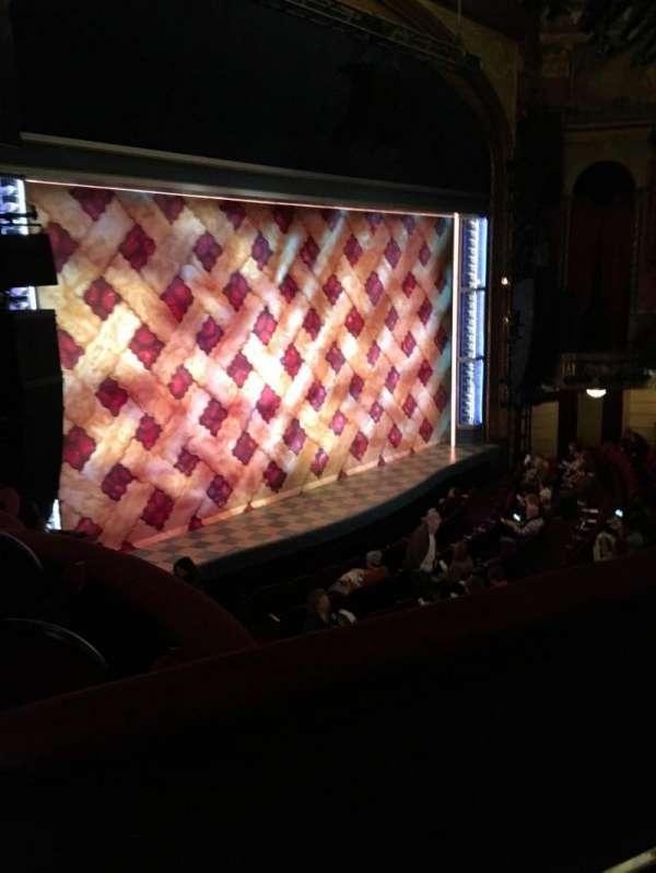 Brooks Atkinson Theatre, Abschnitt: Mezzanine, Reihe: B, Platz: 25
