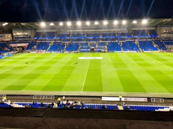 Cardiff City Stadium, Abschnitt: 514, Reihe: A, Platz: 93