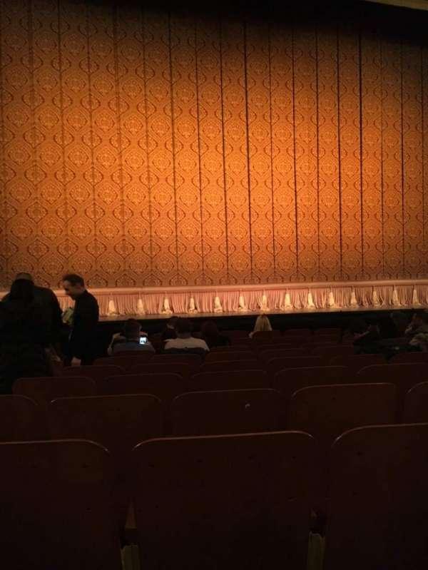 Booth Theatre, Abschnitt: Orchestra Center, Reihe: H, Platz: 103
