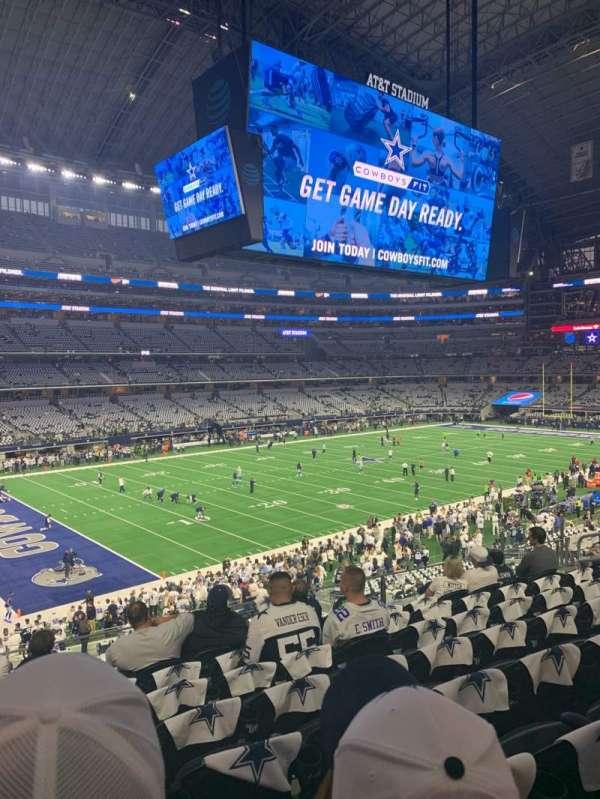AT&T Stadium, Abschnitt: 216, Reihe: 8
