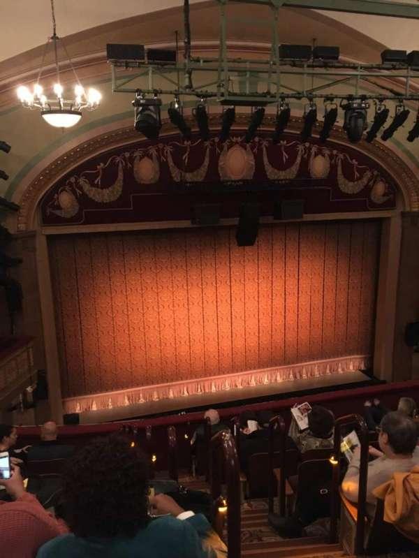 Booth Theatre, Abschnitt: Mezz, Reihe: H, Platz: 1