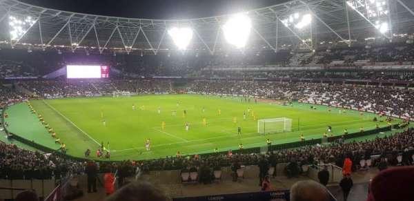 London Stadium, Abschnitt: 245, Reihe: 37