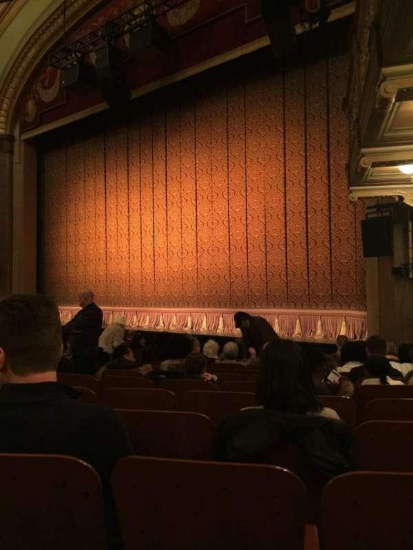 Booth Theatre, Abschnitt: Orchestra, Reihe: K, Platz: 10