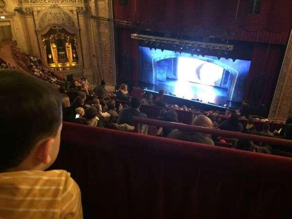 Chicago Theatre, Abschnitt: BALC2R, Reihe: M, Platz: 204