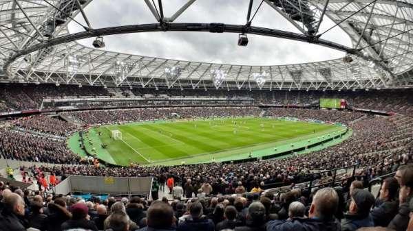 London Stadium, Abschnitt: 231, Reihe: 42, Platz: 598