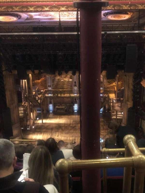 CIBC Theatre, Abschnitt: Balcony RC, Reihe: K, Platz: 408