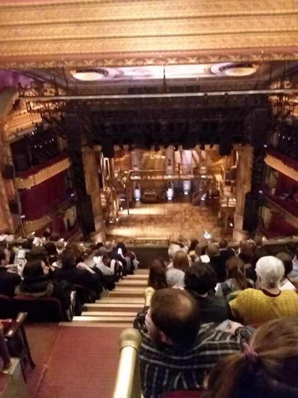 CIBC Theatre, Abschnitt: BALCRC, Reihe: K, Platz: 402