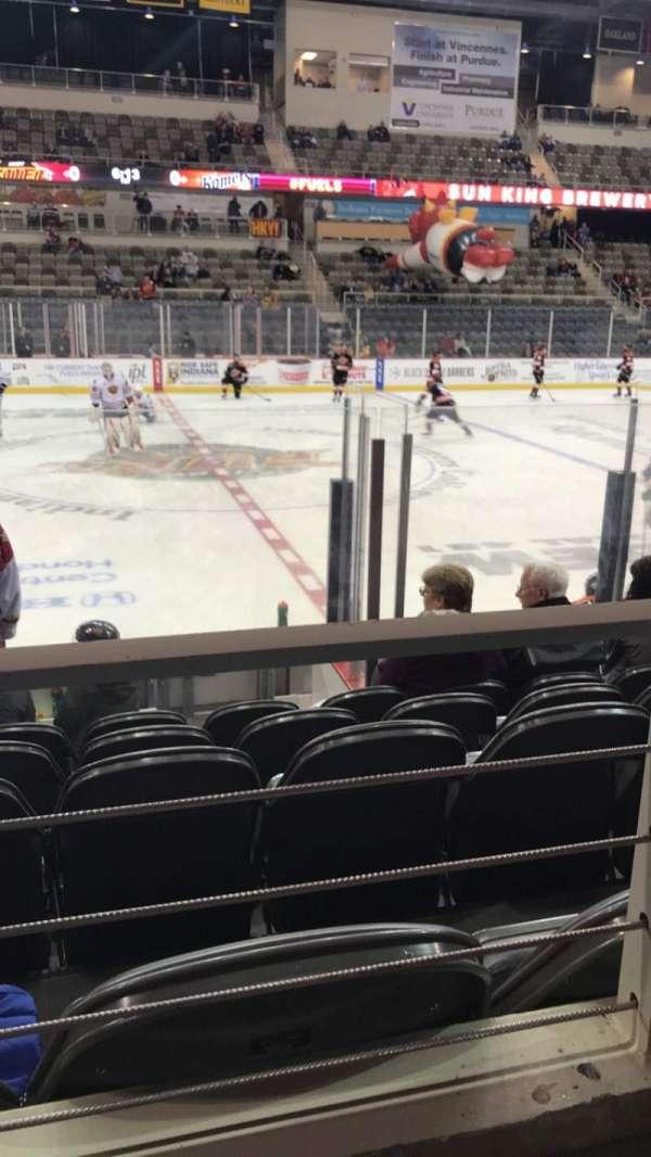 Indiana Farmers Coliseum, Abschnitt: 209, Reihe: A, Platz: 20
