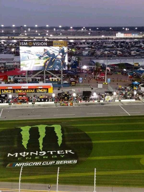 Daytona International Speedway, Abschnitt: 342, Reihe: 23, Platz: 7
