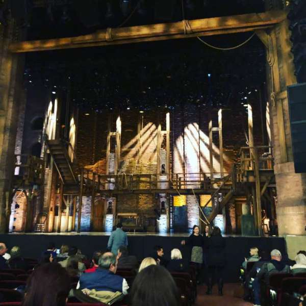 CIBC Theatre, Abschnitt: Orchestra C, Reihe: N, Platz: 114