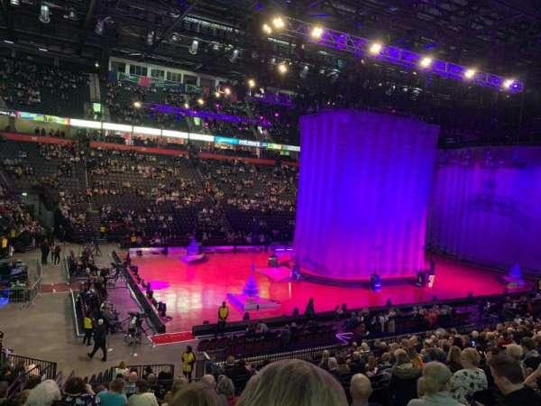 Manchester Arena, Abschnitt: 112, Reihe: T, Platz: 12