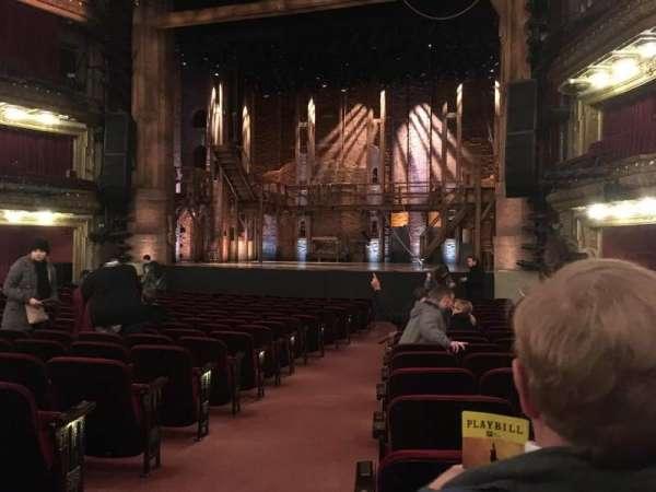 CIBC Theatre, Abschnitt: Orchestra R, Reihe: T, Platz: 2