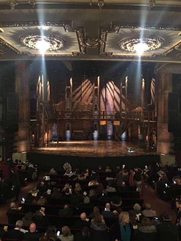 CIBC Theatre, Abschnitt: Dress circle center, Reihe: A, Platz: 207