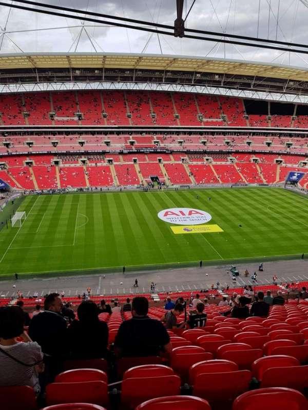 Wembley Stadium, Abschnitt: 529, Reihe: 21, Platz: 62