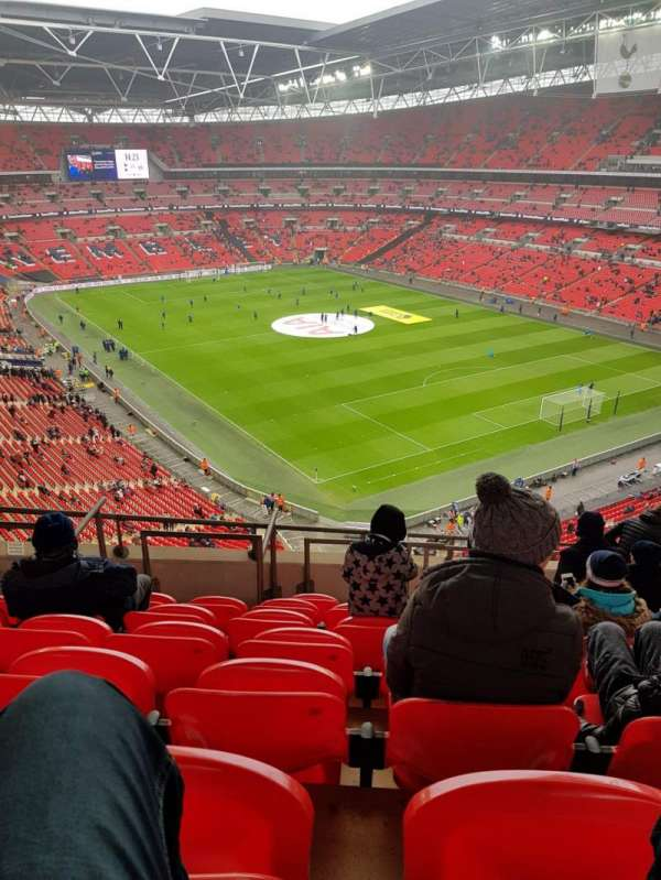 Wembley Stadium, Abschnitt: 544, Reihe: 10, Platz: 145