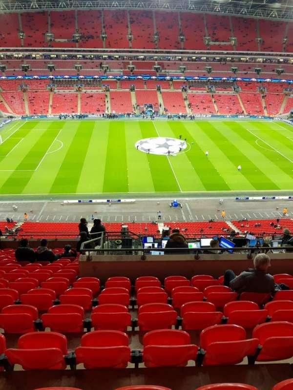 Wembley Stadium, Abschnitt: 528, Reihe: 14, Platz: 27