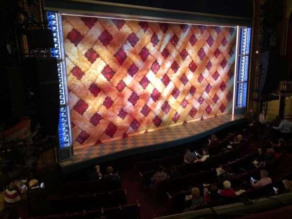 Brooks Atkinson Theatre, Abschnitt: Front Mezzanine, Reihe: A, Platz: 15