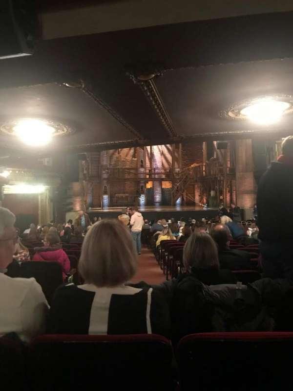 CIBC Theatre, Abschnitt: Orchestra LC, Reihe: Y, Platz: 101