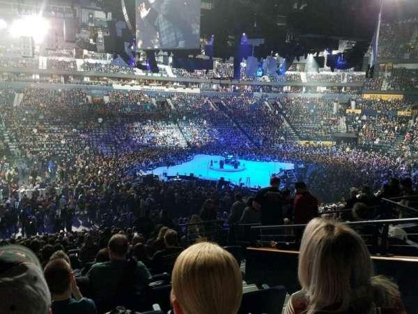 Bridgestone Arena, Abschnitt: 114, Reihe: n, Platz: 3