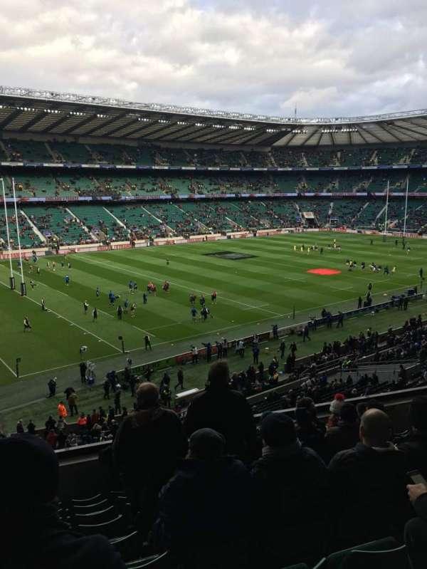 Twickenham Stadium, Abschnitt: M12, Reihe: 60, Platz: 334