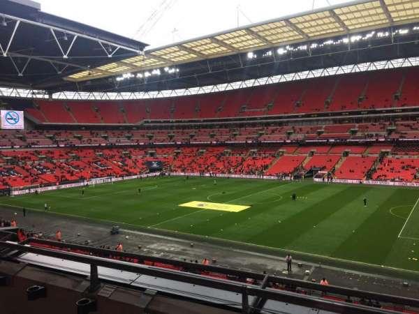 Wembley Stadium, Abschnitt: 223, Reihe: 3, Platz: 227