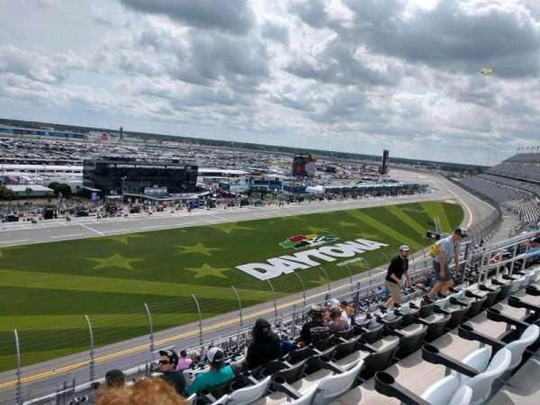 Daytona International Speedway, Abschnitt: 344, Reihe: 18, Platz: 18