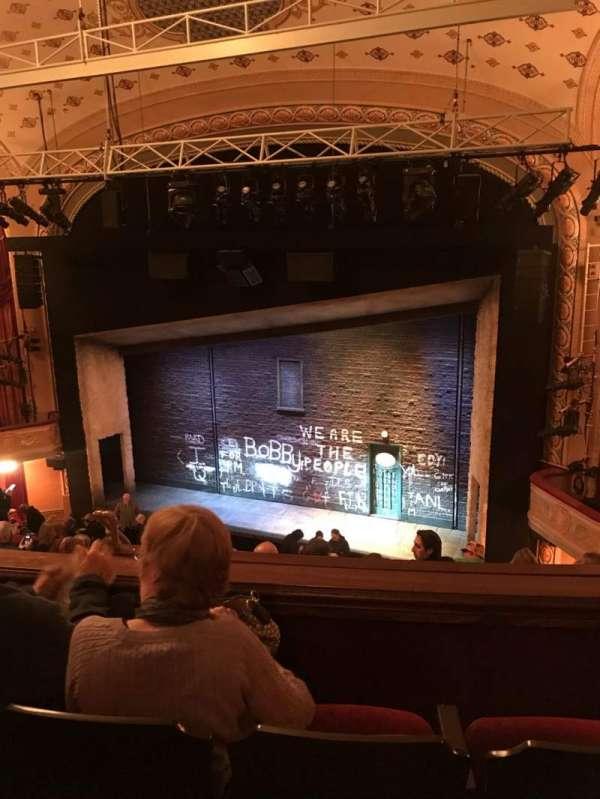Bernard B. Jacobs Theatre, Abschnitt: Rear Mezz, Reihe: G, Platz: 12