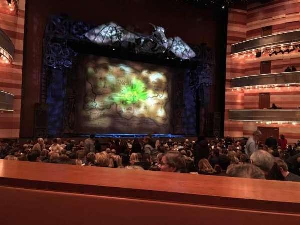 Eccles Theater, Abschnitt: Orchestra, Reihe: SS, Platz: 116