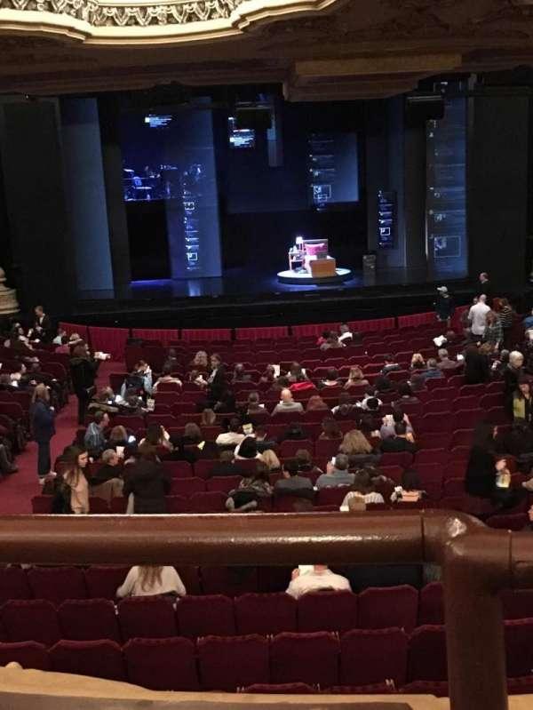 Nederlander Theatre (Chicago), Abschnitt: Dress Circle, Reihe: A, Platz: 202