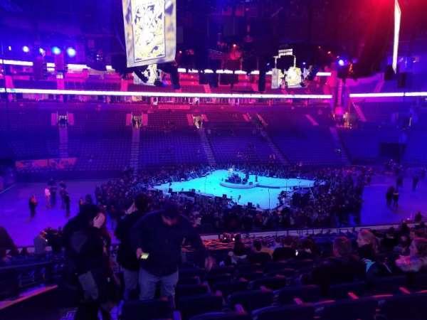 Bridgestone Arena, Abschnitt: 105, Reihe: N, Platz: 15